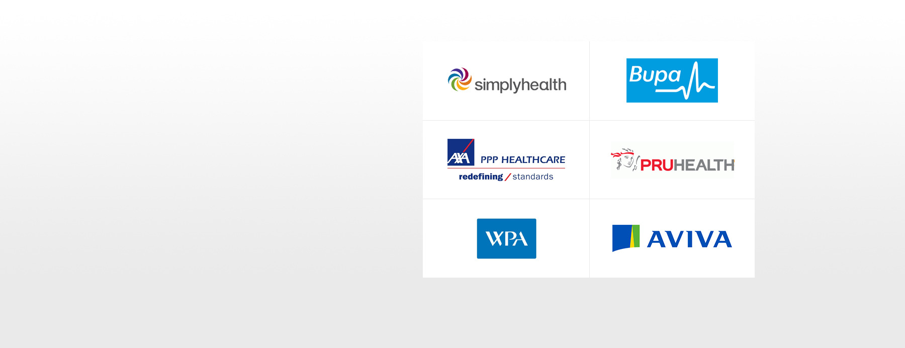 All Major Health Insurers Accepted